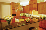 Plantation House Plan Kitchen Photo 02 - 020S-0002 | House Plans and More