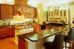 Plantation House Plan Kitchen Photo 03 - 020S-0002 | House Plans and More