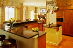 Colonial Floor Plan Kitchen Photo 04 - 020S-0002 | House Plans and More