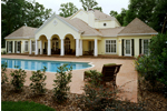 Southern Plantation Plan Rear Photo 01 - 020S-0002 | House Plans and More