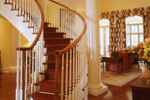 Greek Revival Home Plan Stairs Photo - 020S-0002 | House Plans and More