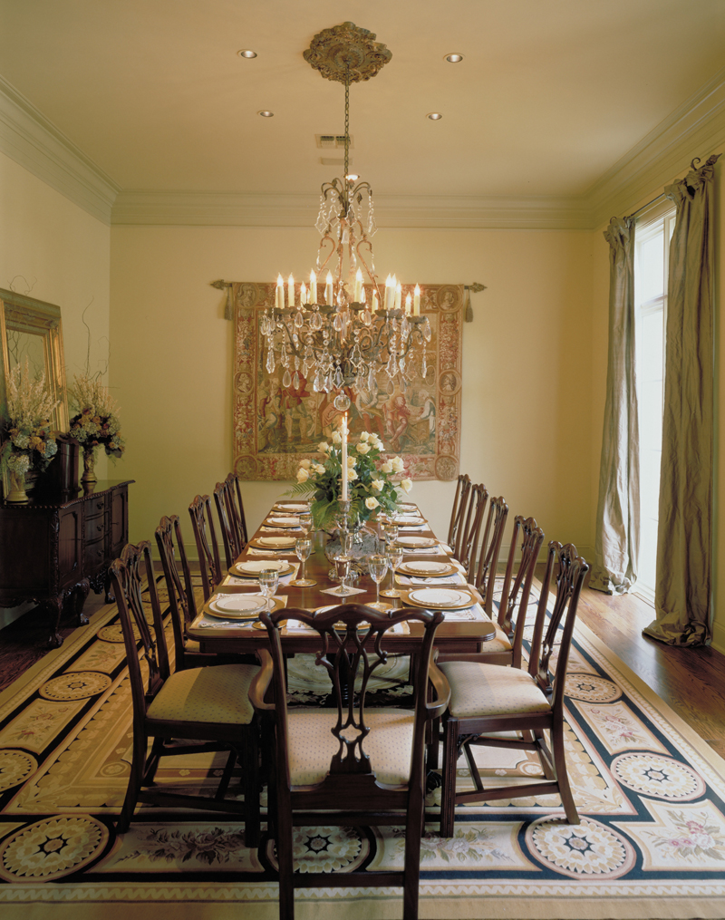 Southern Plantation Plan Dining Room Photo 01 020S-0004