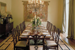 Plantation House Plan Dining Room Photo 01 - 020S-0004 | House Plans and More