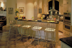 Colonial Floor Plan Kitchen Photo 01 - 020S-0004 | House Plans and More