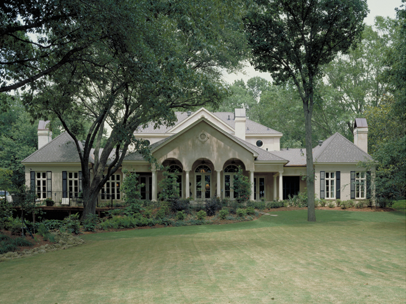 Traditional House Plan Rear Photo 01 - 020S-0004 | House Plans and More