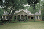 Southern Plantation Plan Rear Photo 01 - 020S-0004 | House Plans and More