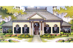 Traditional House Plan Front Image - 020S-0006 | House Plans and More