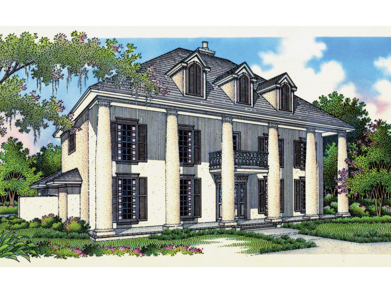 Mansionmill Luxury Home Plan 020S-0008 | House Plans and More