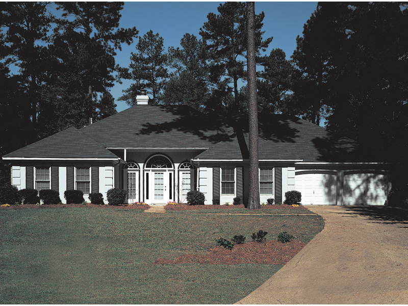 Sunbelt Home Plan Front Photo of House 021D-0001