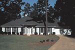 Sunbelt Home Plan Front Photo of House - 021D-0001 | House Plans and More