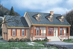 Arts and Crafts House Plan Front Image - 021D-0011 | House Plans and More