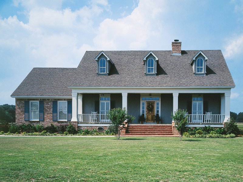 Lowcountry Home Plan Front of Home 021D-0011