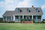 Ranch House Plan Front of Home - 021D-0011 | House Plans and More