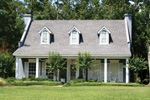 Stucco Finish And Authentic Southern Home Styling