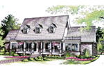 Southern House Plan Front Image of House - 021D-0020 | House Plans and More
