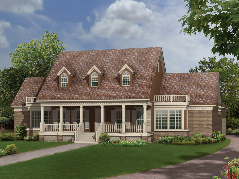 Richardson southern home plan 021d 0020 house plans and more for Richardson homes floor plans