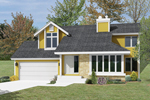 Modern House Plan Front Image - 022D-0003 | House Plans and More