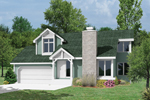 Arts & Crafts House Plan Front Image - 022D-0004 | House Plans and More