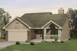 Gabled Front Porch Adds Charm And Value