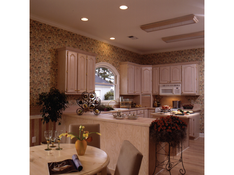Southern House Plan Kitchen Photo 01 023D-0002