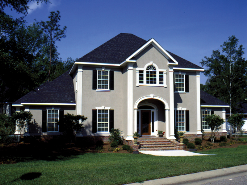 Southern House Plan Front Photo 02 023D-0004