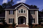 Colonial Floor Plan Front Photo 04 - 023D-0004 | House Plans and More