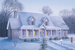 Country House Plan Front Photo 02 - 023D-0006 | House Plans and More