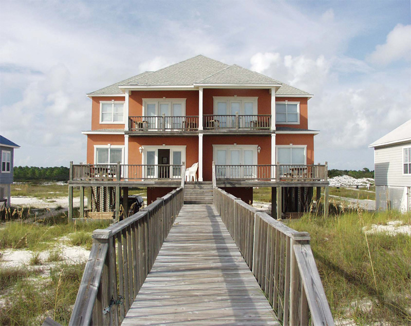 Waterfront Home Plan Rear Photo 01 - 023D-0013 | House Plans and More
