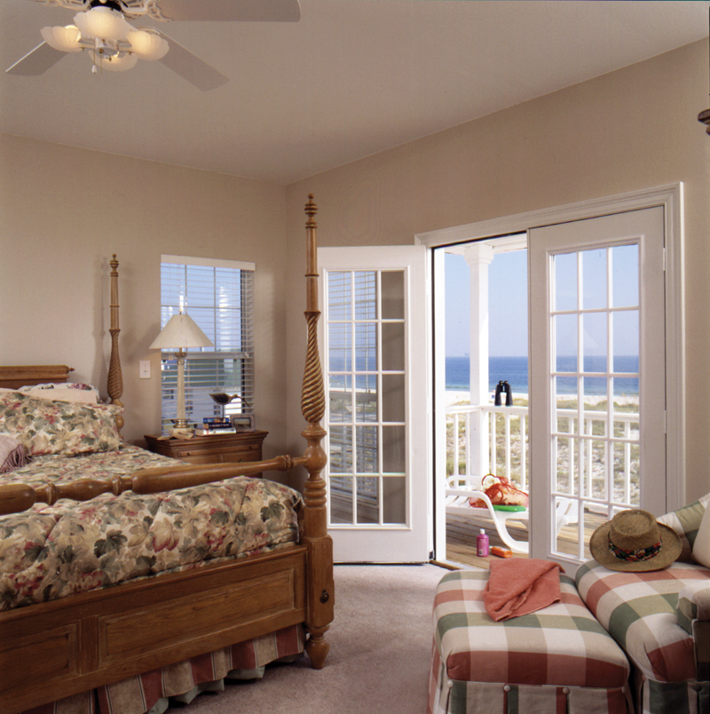Southern House Plan Bedroom Photo 01 023D-0014