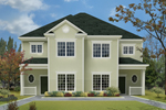 Multi-Family House Plan Front Photo 01 - 023D-0014 | House Plans and More
