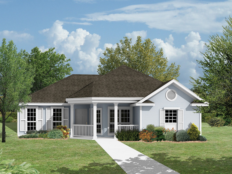 Traditional House Plan Front Photo 01 - 024D-0002 | House Plans and More