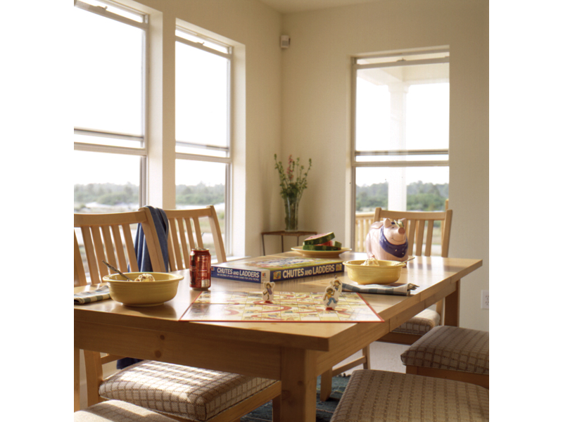 Cabin and Cottage Plan Dining Room Photo 01 - 024D-0008 | House Plans and More
