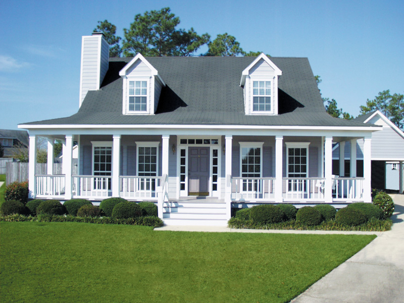 Country House Plan Front of Home 024D-0011