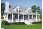 Cape Cod and New England Plan Front Photo 01 - 024D-0011 | House Plans and More
