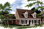 Traditional House Plan Front Photo 01 - 024D-0014 | House Plans and More