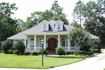 Majestic Southern Plantation Home With Many Enhanced Features