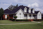 Craftsman House Plan Front Photo 01 - 024D-0025 | House Plans and More