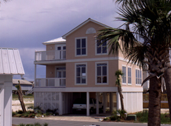 Beach house plans coastal home designs house plans and for Beach house plans on pylons
