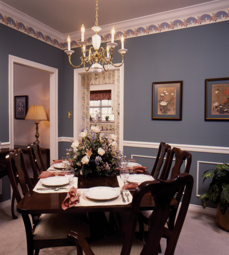 Saltbox House Plan Dining Room Photo 01 024D-0042