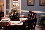 Saltbox House Plan Dining Room Photo 01 - 024D-0042 | House Plans and More