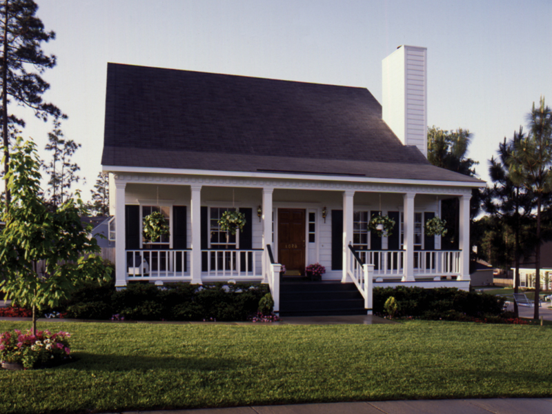 blacksburg country cottage home - Country Home Plans
