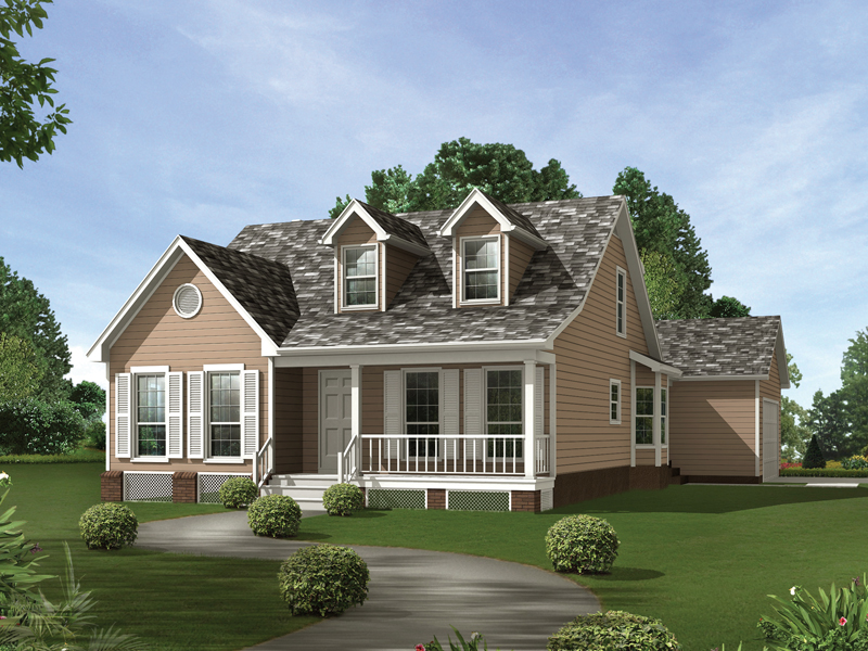 Country House Plan Front of Home - 024D-0044 | House Plans and More