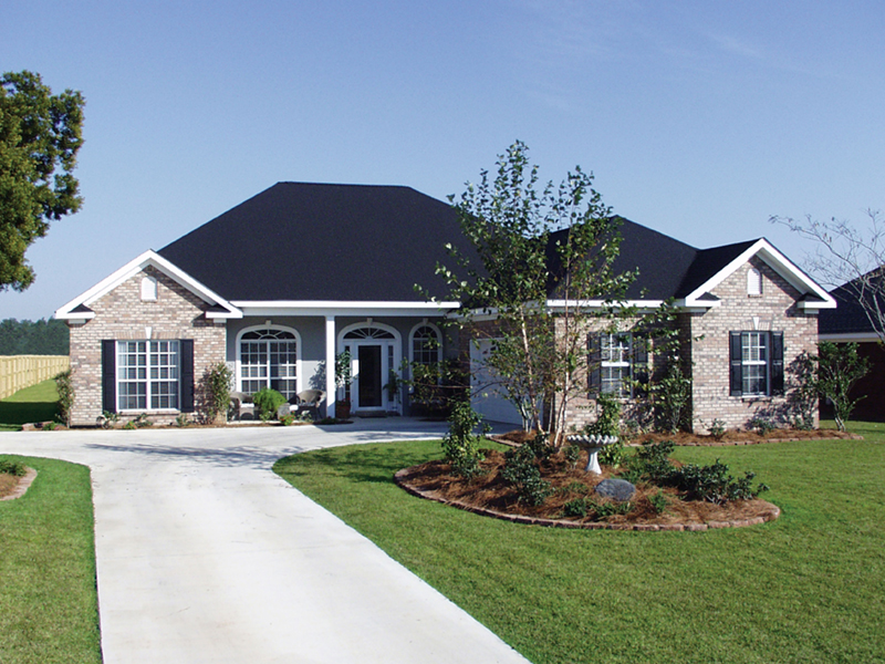 Traditional House Plan Front of Home - 024D-0046 | House Plans and More