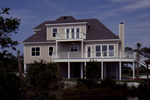 Beach and Coastal House Plan Rear Photo 01 - 024D-0047 | House Plans and More