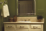 Country French Home Plan Bathroom Photo 01 - 024D-0048 | House Plans and More