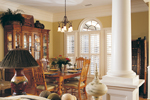 Country French Home Plan Dining Room Photo 01 - 024D-0048 | House Plans and More