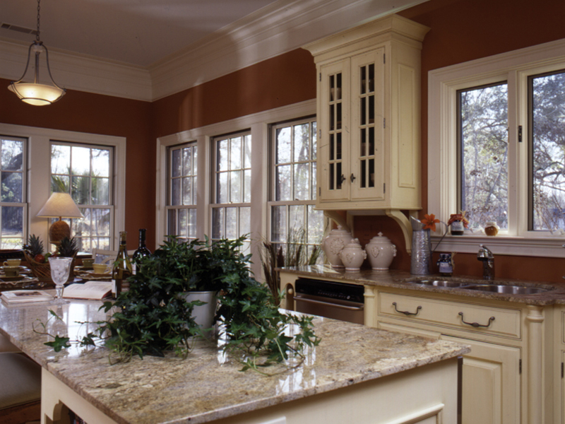 Country French Home Plan Kitchen Photo 02 024D-0048
