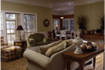 Ranch House Plan Living Room Photo 01 - 024D-0048 | House Plans and More