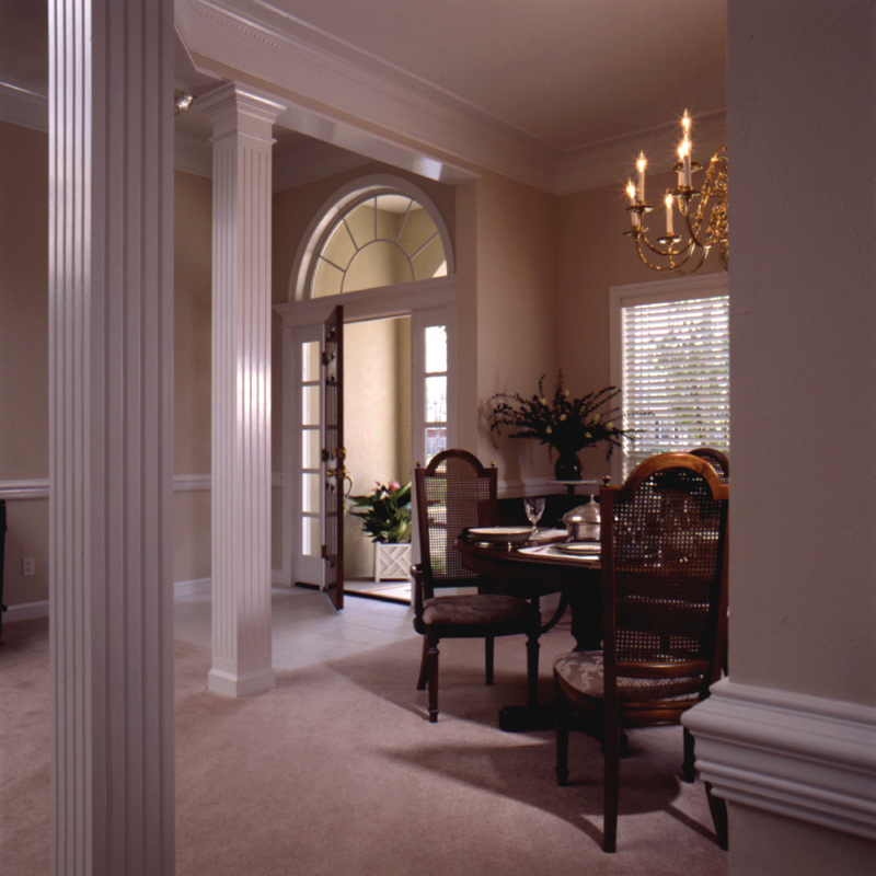 European House Plan Dining Room Photo 01 024D-0051