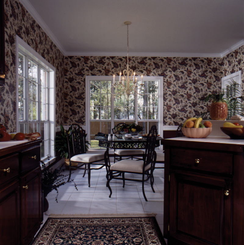 European House Plan Kitchen Photo 02 024D-0051